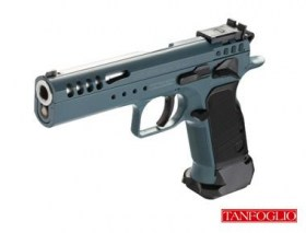 tanfoglio limited custom blue